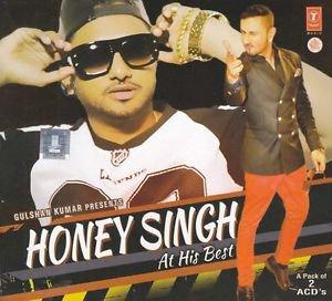 Honey Singh At His Best Audio CD (Set of 2) (Stg Mika Singh, Meet Bros)
