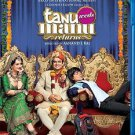 Tanu Weds Manu Returns Hindi Blu Ray ( Bollywood, 2015 Moive ) (In Stock)