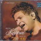 Meri Kahani Best Of K K Hindi Audio CD - 2015 (Bollywood Best Albums)