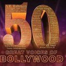 50 Great Voices of Bollywood Hindi Audio CD (Best Indian Singers)