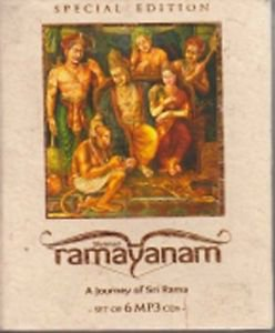 Shrimad Ramayanam: A Journey of Sri Rama (Set of 6 MP3 CDs)