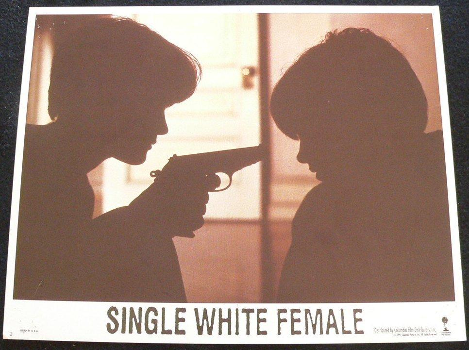 SINGLE WHITE  FEMALE   LOBBY CARD        11X14