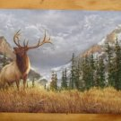 Elk in the Mnts Chalk Board with Chalk Tray