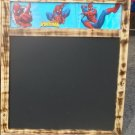 Spider Man for Kids  Chalk Board with Chalk Tray