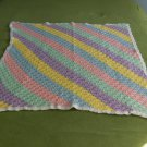 Pastel Colored Baby Afghan