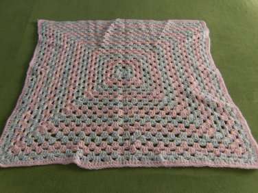 One Giant Granny Square Baby Afghan