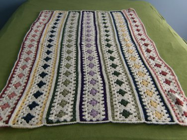 Naptime Granny Square Baby Afghan
