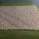 "Pastel Colored ""Sue"" Baby Afghan"