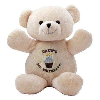 "Blessing Buddies 3 Yr Birthday Bear - 14"" tall"
