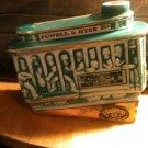 Ezra brooks 1968 Trolley car whiskey decanter