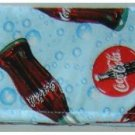 CREDIT CARD HOLDER:  Coca Cola Fabric