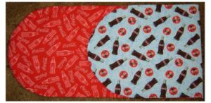 COCA COLA TABLE RUNNER: REVERSIBLE