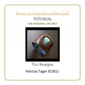 Folding Leather End - Beads, Beading Supplies & Jewellery Making