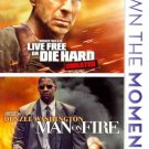 Live Free Or Die Hard/Man On Fire (DVD/Dbfe/Widescreen/Sac)