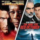 Hunt For Red October/Sum Of All Fears 2Pk (DVD/Dble Feat/2Discs/W/O Sleeve)