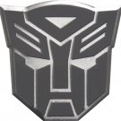 Transformers Autobots Aluminum Gray Grey Silver Large Emblem in Gunmetal