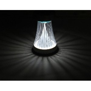 Gamasonic GS-335SC Fluted Solar Accent Light Color Changing- White/Color ON SALE