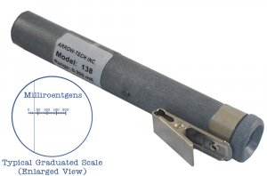 Direct-Reading Low-Range Dosimeter MODEL W500-S, 0-5mSv DIRECT READING DOSIMETER W/WINDOW