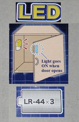 LED automatic Cabinet light (set of 2 lights) FREE SHIPPING