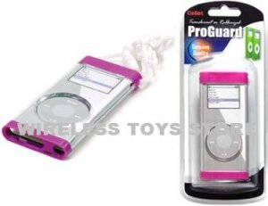 IPOD NANO 2ND GENERATION PINK SNAP ON PROTECTOR SHIELD CASE