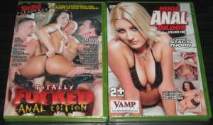 Double Penetration and Anal Cream Pie action! Free Shipping On 2 DVDs!