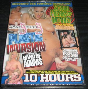 """""""Plastic Invasion"""" Featuring the Hand Of Adonis you'll see it, but you still won't believe it!"""