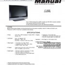 MITSUBISHI LT-4260 L423FR LCD TV SERVICE REPAIR MANUAL