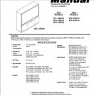 MITSUBISHI WT-46809 WS-55809 WS-65809 WS-55819 WS-65819 TV SERVICE REPAIR MANUAL