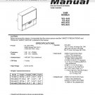 MITSUBISHI WS-A48 VS-A50 WS-A55 WS-A65 TV SERVICE REPAIR MANUAL