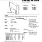 MITSUBISHI WS-48313 WS-55313 WS-65313 WS-48413 WS-55413 WS-65413 TV SERVICE REPAIR MANUAL