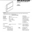 MITSUBISHI WL-82913 FACTORY TV SERVICE REPAIR MANUAL
