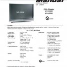 MITSUBISHI WD-52526 WD-62526 TV SERVICE REPAIR MANUAL