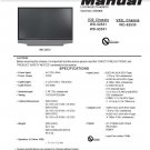 MITSUBISHI WD-52531 WD-62531 WD-62530 TV SERVICE REPAIR MANUAL