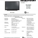 MITSUBISHI WD-57831 WD-65831 WD-73831 TV SERVICE REPAIR MANUAL