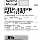 PIONEER PDP-443PE PDP-443PU TV SERVICE REPAIR MANUAL