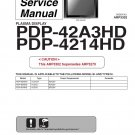 PIONEER PDP-42A3HD PDP-4214HD TV SERVICE REPAIR MANUAL
