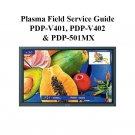 PIONEER PDP-V401 PDP-V402 PDP-501MX TV FIELD SERVICE GUIDE