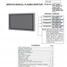 SANYO PDP-42WV1 PDP-42WV1S PDP-42WV1A PDP-42WV1AS TV SERVICE REPAIR MANUAL