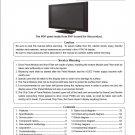 HITACHI 42PD9500TA PLASMA TV SERVICE REPAIR MANUAL