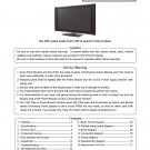 HITACHI 42PD9800TA PLASMA TV SERVICE REPAIR MANUAL