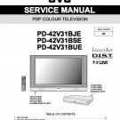 JVC PD-42V31BJE PD-42V31BSE PD-42V31BUE TV SERVICE REPAIR MANUAL
