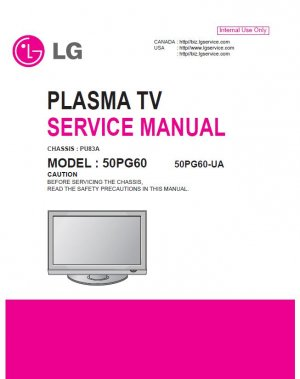 lg 50pg60 50pg60 ua plasma tv service repair manual. Black Bedroom Furniture Sets. Home Design Ideas