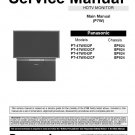 PANASONIC PT-47WX52F PT-47WX52CF PT-47WX42F PT-47WX42CF TV SERVICE REPAIR MANUAL