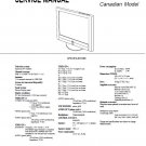 SONY KE-32TS2U FLAT PANEL LCD TV SERVICE REPAIR MANUAL
