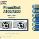 CANON POWERSHOT A100 A200 DIGITAL CAMERA SERVICE REPAIR MANUAL
