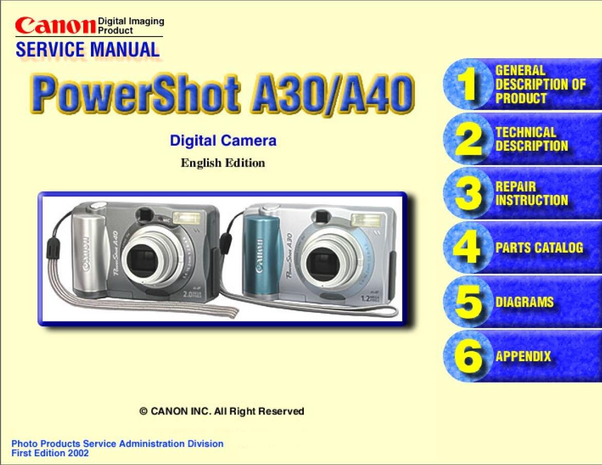 canon digital ixus 400 manual