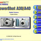 CANON POWERSHOT A30 A40 DIGITAL CAMERA SERVICE REPAIR MANUAL