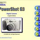 CANON POWERSHOT G3 DIGITAL CAMERA SERVICE REPAIR MANUAL