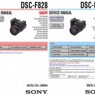 SONY DSC-F828 DIGITAL CAMERA SERVICE REPAIR MANUAL