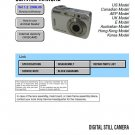 SONY DSC-S500 DIGITAL CAMERA SERVICE REPAIR MANUAL